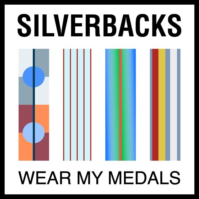 silverbacks wear my medals