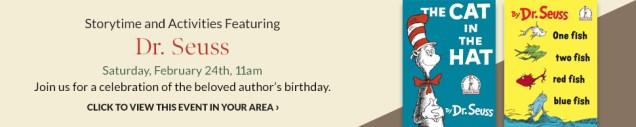 Happy Birthday Dr. Seuss Storytime