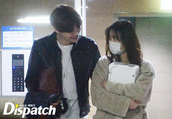 """[디스포토] """"꿀.떨.어.집.니.다""""…안재현·구혜선, 눈빛 데이트"""
