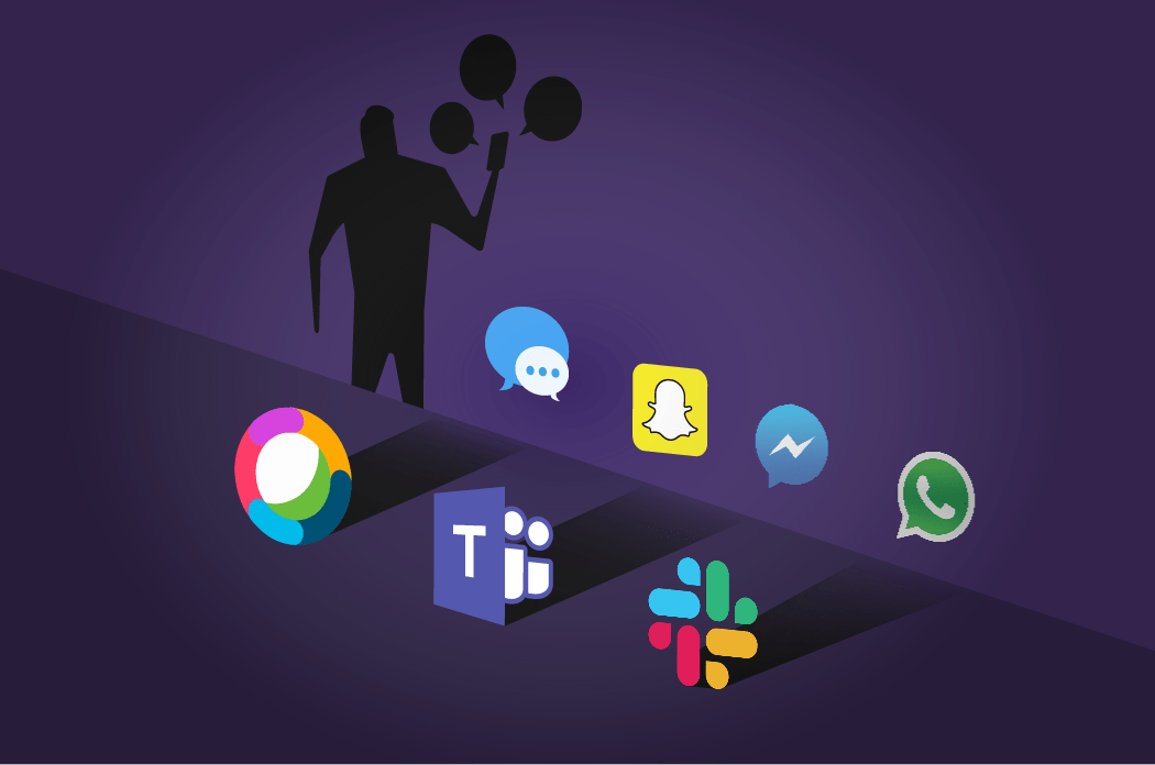 Shadow messaging is an extension of Shadow IT and traditionally involved apps like Slack