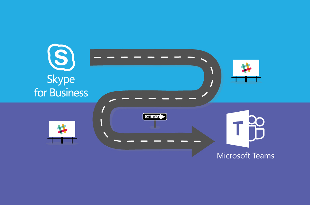 upgrading from Skype for Business to Microsoft Teams, but also have Slack users?