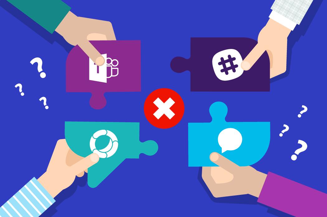 Does multiple messaging platforms mean you have to block Slack?