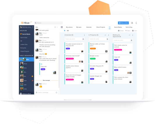 Hive is one of the top project management Skype for Business alternatives