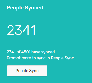 People synced