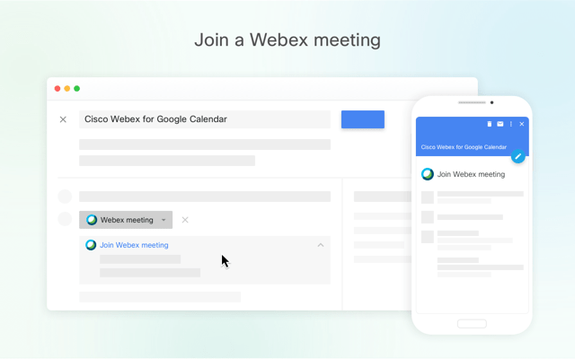 Google Calendar Webex Teams integration