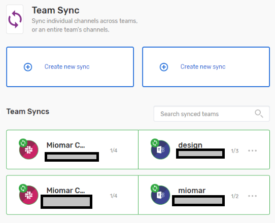 Team Sync for Slack and Microsoft Teams