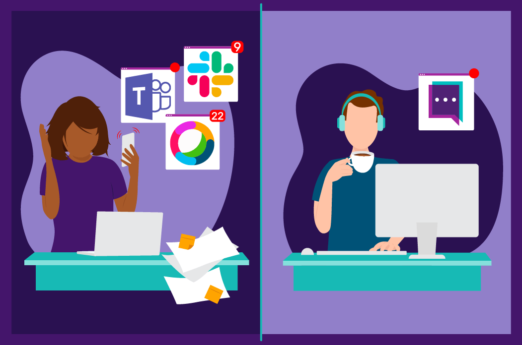 External Federation Expectation vs Reality Slack Microsoft Teams Cisco Webex Teams