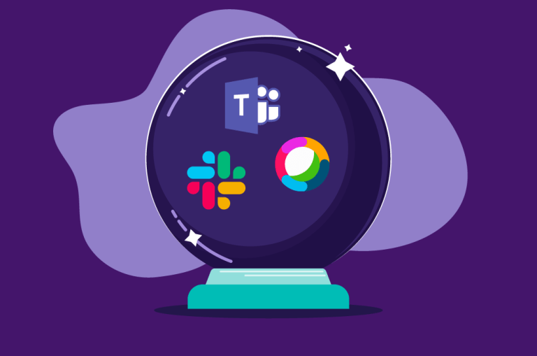 Where will external federation between Slack Microsoft Teams and Cisco Webex Teams be in 1 years time