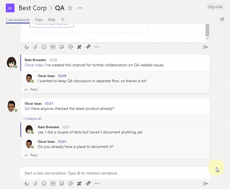 Confluence and Microsoft Teams integration