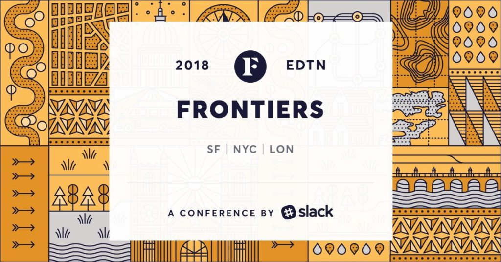 Frontiers, Slack conference