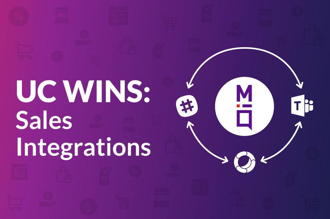 UC Wins: 7 Sales Integrations