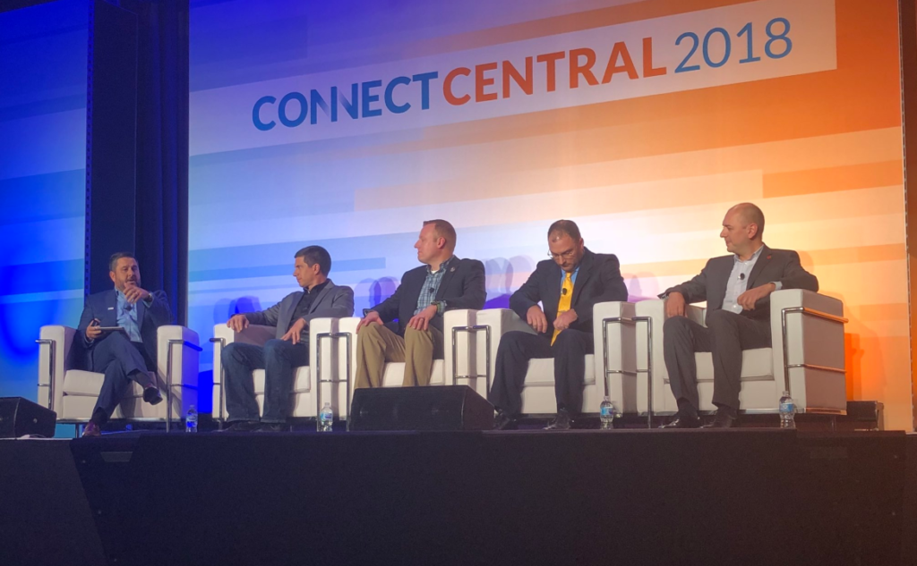 Chad Reese was on the customer panel at ConnectCentral