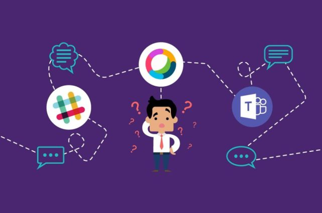 IT Managers often end up using multiple collaboration platforms