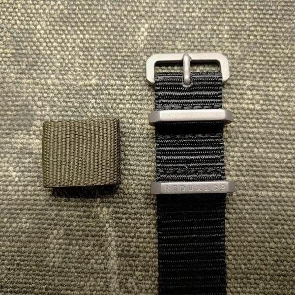 Redux Titanium Watch Strap Hardware