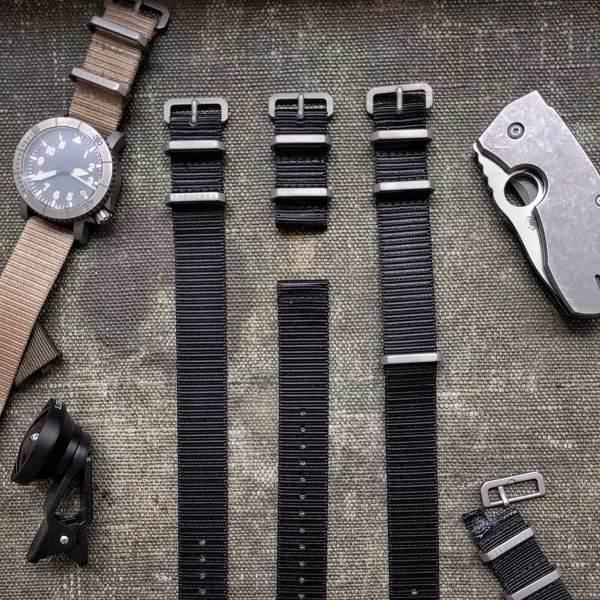 Redux Titanium x Ballistic Watch Straps