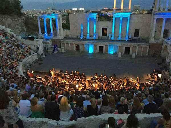 A concert in Plovid