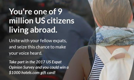 American expats tax survey