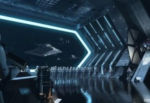 Star Wars Battle Attraction concept art
