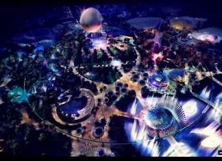 Epcot Future World concept art