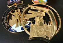 runDisney Disneyland Marathon medals