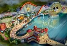 Disney California Adventure Pixar Pier concept art