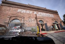 An exterior photo of Fast & Furious Supercharged