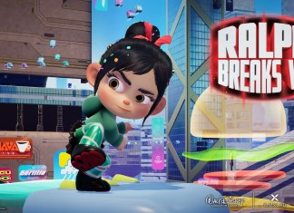 Ralph Breaks VR poster