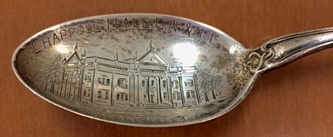 GN & IC Commemorative Spoon Close Up