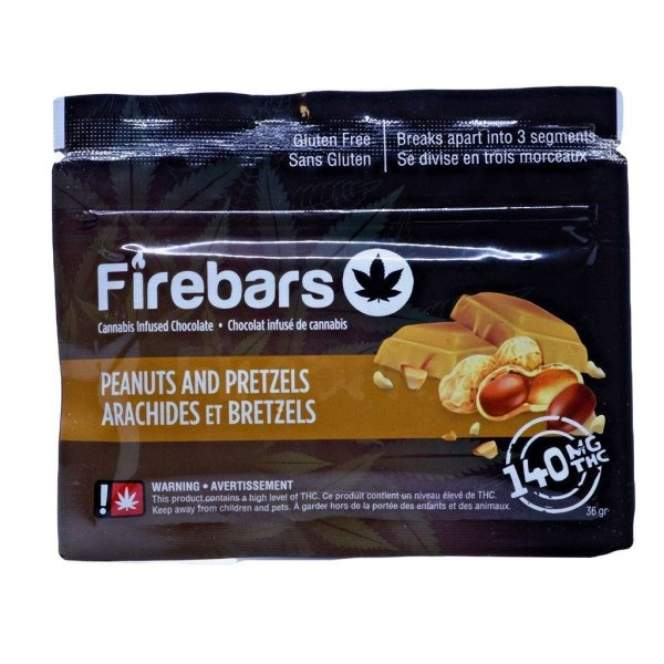 Fire Bars- Peanut Pretzels (140 MG THC)