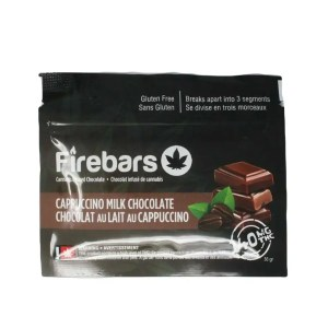 Fire Bars- Cappuccino Milk Chocolate (140 MG THC)