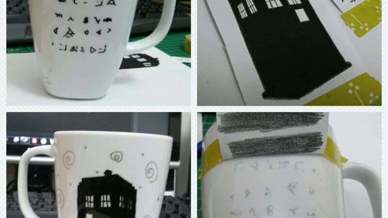 Tazas Whovianas: TARDIS