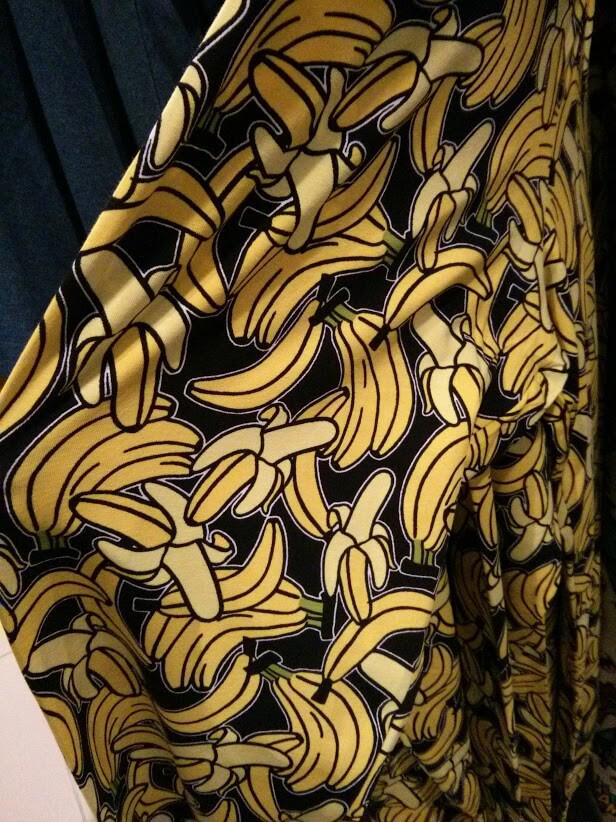 Banana print en Leggins H&M