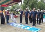 Dinas Pertanian Meriahkan Lomba Gerak Jalan,Sambut 163 Kabupaten Cilacap.
