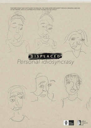 Participant 3, Personal Idiosyncrasy, Blind contour portraits of others.