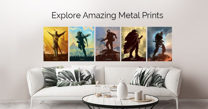 Gaming Characters by Eden Design | metal posters