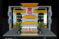 jewellery Exhibition Stall Design