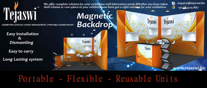 Magnetic Backdrop a Perfect Backdrop Solution..