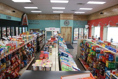 Convenience Store Refresh - Gondola Shelving