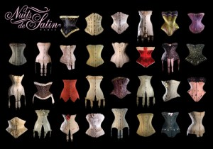 Nuits de Sqtin Corsets Collection