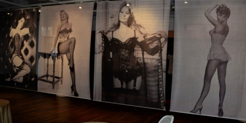 Brigitte Bardot, Marilyn Monroe, Sophia Loren et Dita Von Teese en guêpière