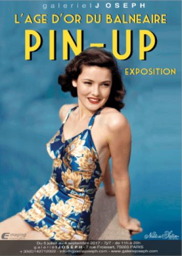 Exposition Pin-Up l'âge d'or du balnéaire galerie Joseph