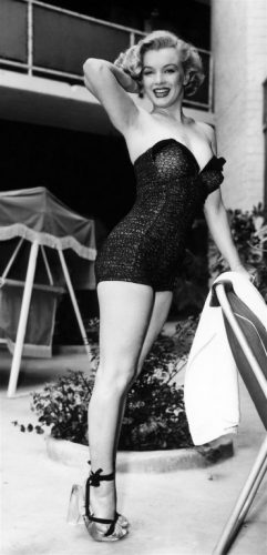 ion Pin-Up Marilyn Monroe Catalina Shooting
