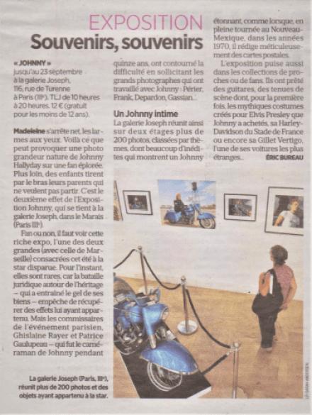 Exposition Johnny Le Parisien