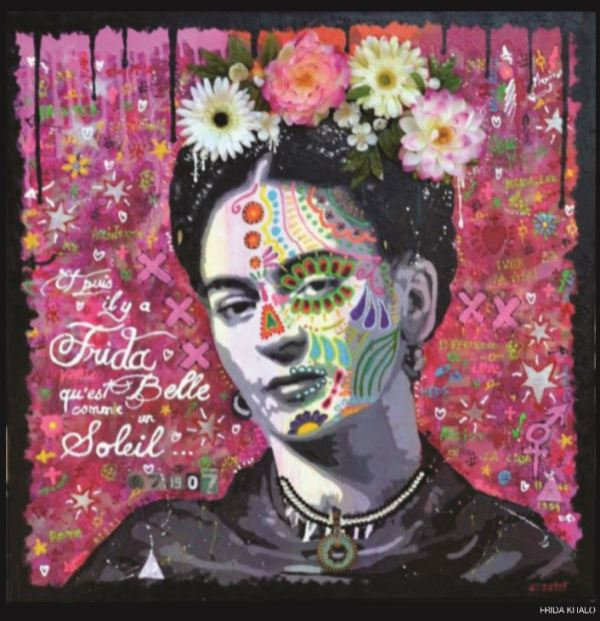 Pop-Art Argadol Frida Kahlo