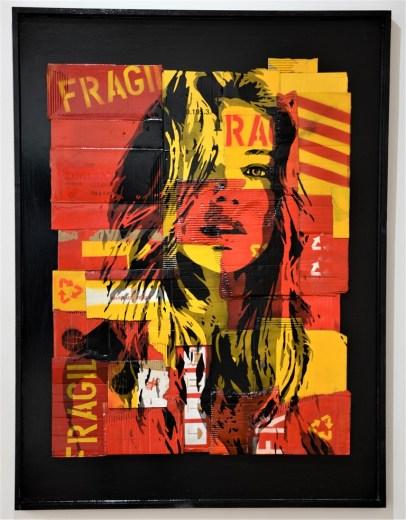 Exposition Expo Pop-Art Pop-Up F2B Fragile