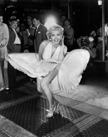 Marilyn Monroe -Sam Shaw 7 ans de réflexion