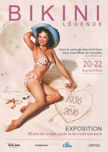 Exposition Bikini par Ghislaine Rayer Nuits de Satin à Paris