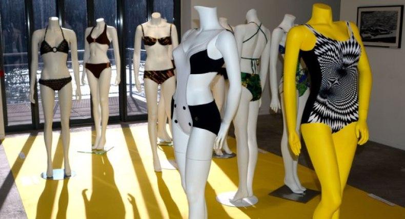 Exposition 70 ans Nuits de Satin maillots de bain