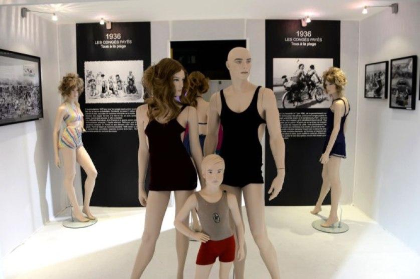 Exposition Bikini Nuits de Satin 1936 Congés Payés Balnéaire