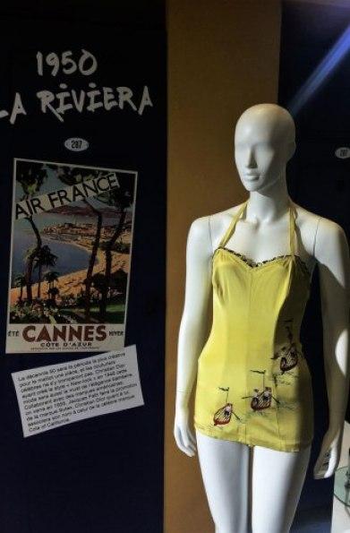 Exposition Bikini Nuits de Satin 1950 La Riviera